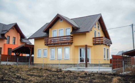 Timber frame house Suceava 2010