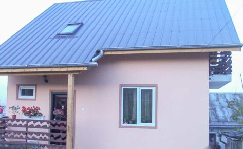 Timber frame house Suceava 2003