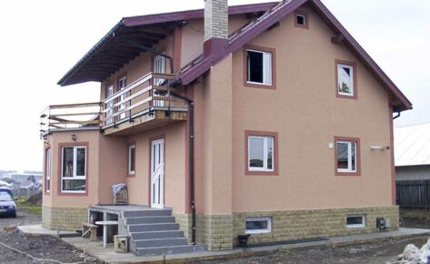 Timber frame house Suceava 2004