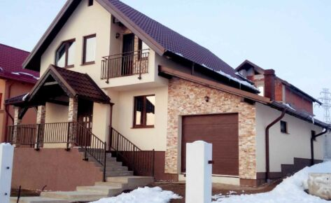 Timber frame house Suceava 2012