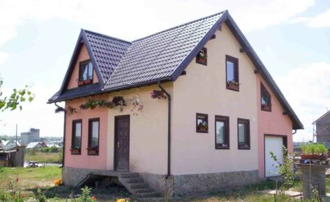 Timber frame house Suceava 2005