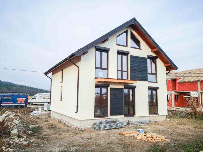 Maison à ossature bois Cluj Napoca 2019