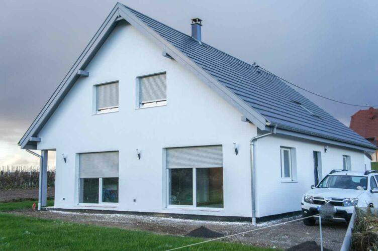 Maison à ossature bois Berstheim 2016
